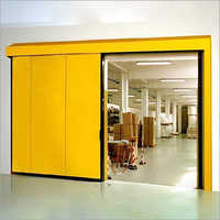 Manual Sliding Metal Door