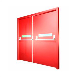 Emergency Exit Fire Metal Door