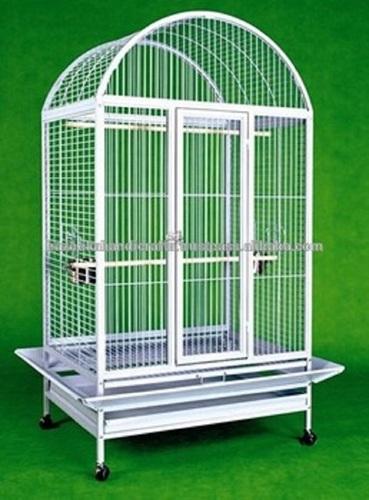 Beautiful White Iron Bird Cage