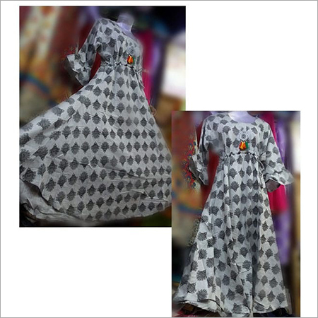 Khadi Cotton Gown