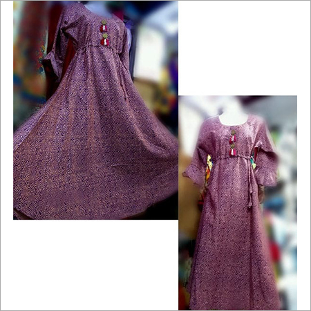 Pure Cotton Gown