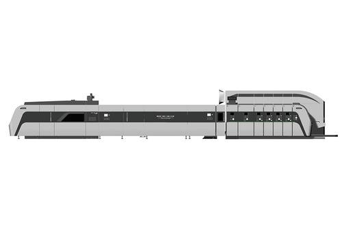 HRB-1224 Ffg Flexo Folder Gluer