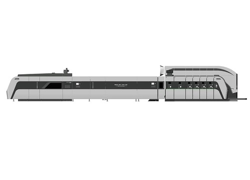 HRB-1224 Ffg Flexo Folder Gluer
