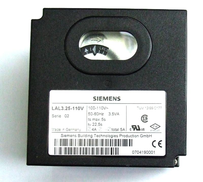 Siemens burner control box LAL3.25, 220V