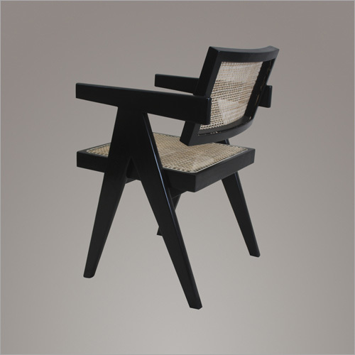 Floating Back Chair Ebony
