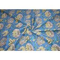 Indian made floral print fabric jaipuri ethnic print 100% Cotton Fabric
