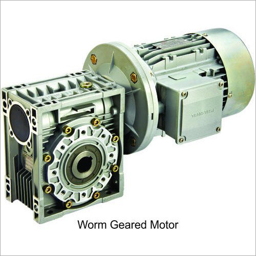 Industrial Worm Geared Motor