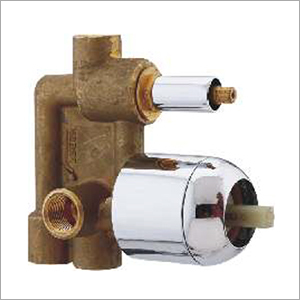 3 Inlet 5 Way Single Lever Diverter Body