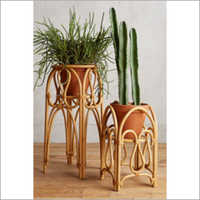 Rattan Planter Stands