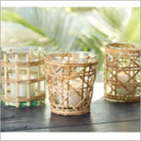 Rattan Table Votives