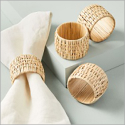 Rattan Weaved Napkin Ring