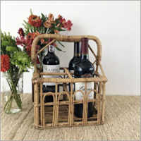 Rattan Wine Bottle Holder