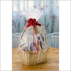 Wicker Gift Basket