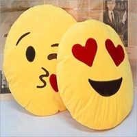 14 Inch Emoji Smiley Cushion