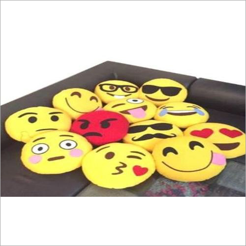 Smiley Emoji Cushion