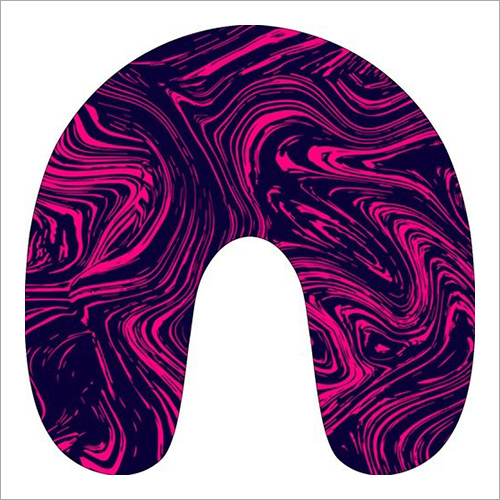 Printed Neck Support Pillow