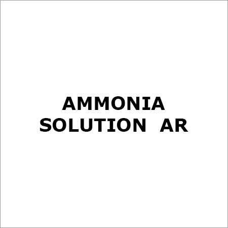 Ammonia Solution Ar