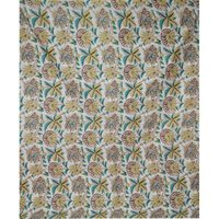 Indian made floral print fabric jaipuri ethnic print 100% Cotton Fabric