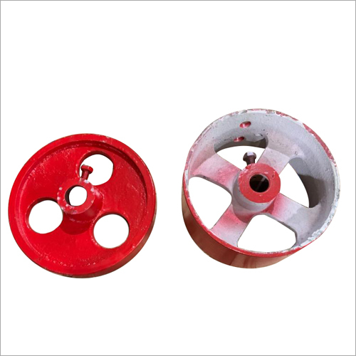 Rice Huller Pulley And Wheel