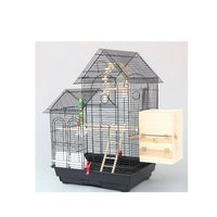 Large Roof Design Bird Cages Houses Metal Iron