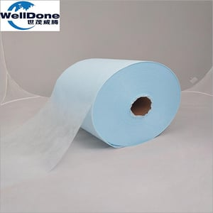 Blue Hydrophilic Nonwoven for Baby Diaper And Sanitary Napkin
