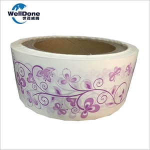 Silicone Coated Release Paper for Sanitary Napkin