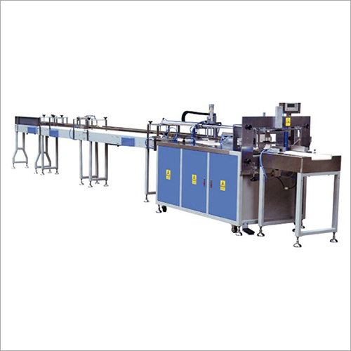 On-Line Multi-Piece Toilet Roll Tissue Paper Final Packing Machine