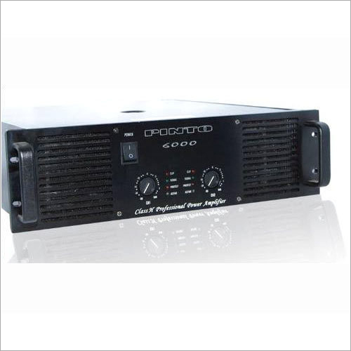 6000W Power Dj Amplifier