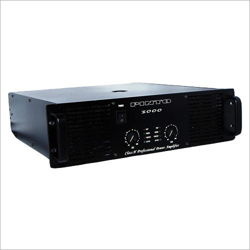 3000W Power Dj Amplifier