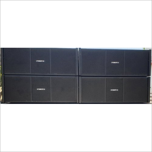 Pinto Horn Loaded Top 2 Way Line Array Speaker Box