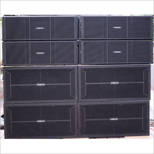 B&C 2 Way 4 Bass 4000W 4 Top Complete Set 21sw152