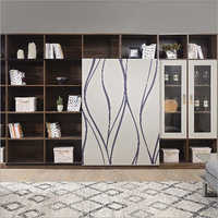 Luxury Home Living Room TV Wall Units Cabinet