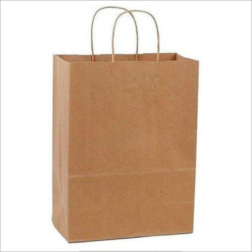 Shopping Twisted Paper Handle Bag