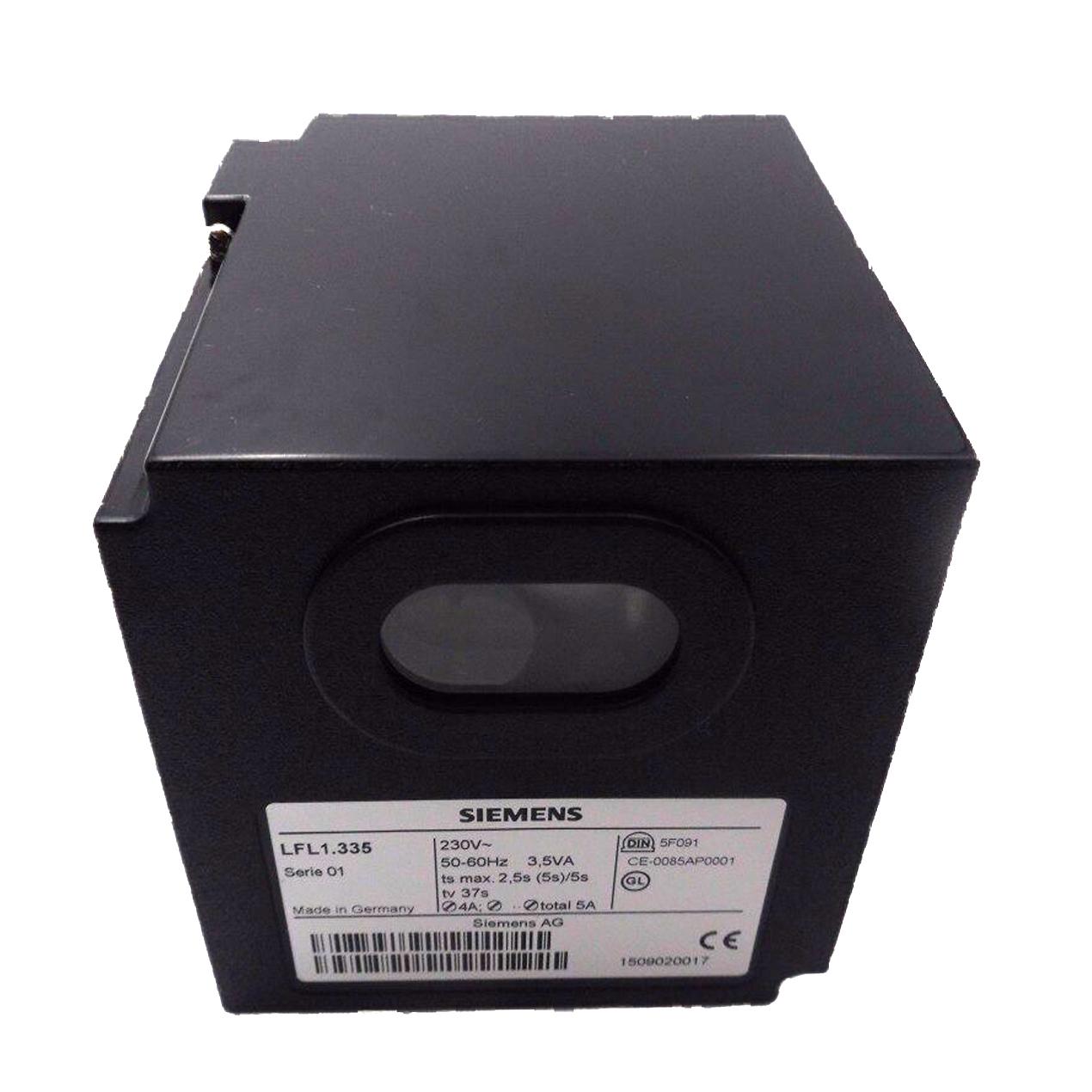 Siemens LFL1.335 gas burner sequence controller
