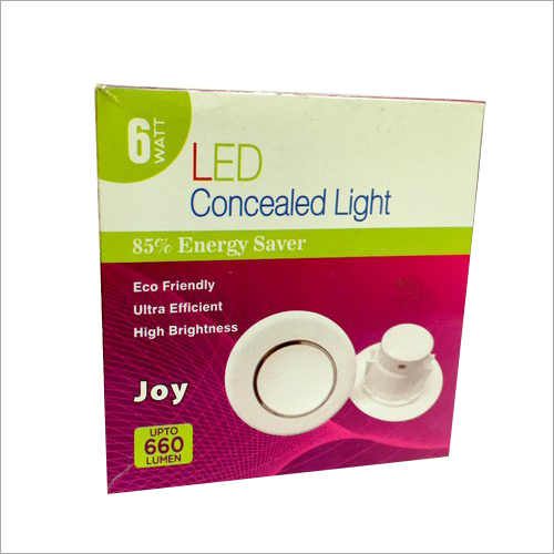 Concealed Light Printed Packaging Box