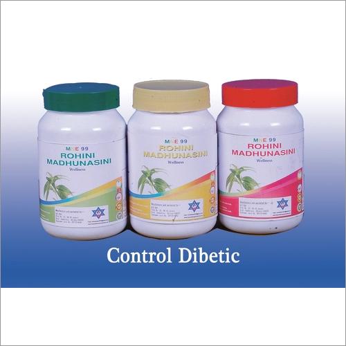 Diabetic Control And Cure  (Life 99 Mne Rohini Madhunasini)
