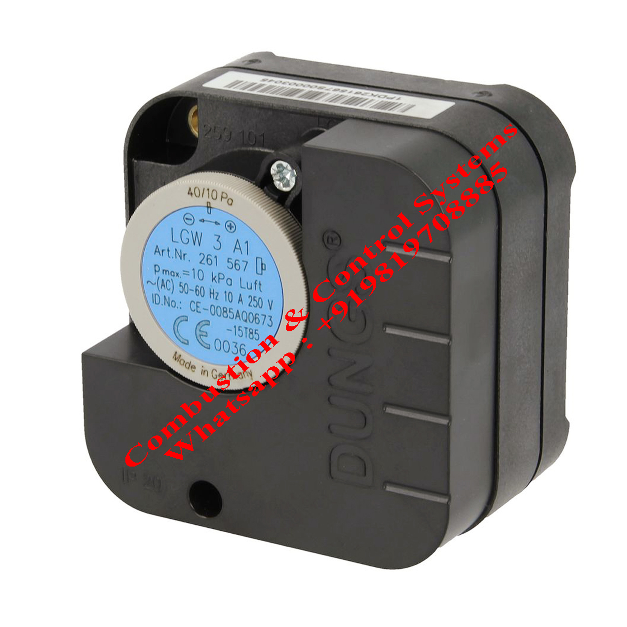 Dungs LGW3A1 Pressure Switch