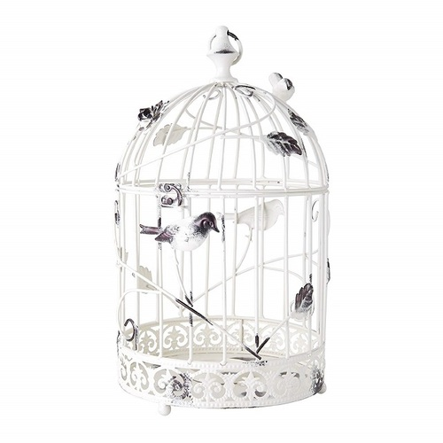 Metal Bird Cage Candle Holder- 20 Inch