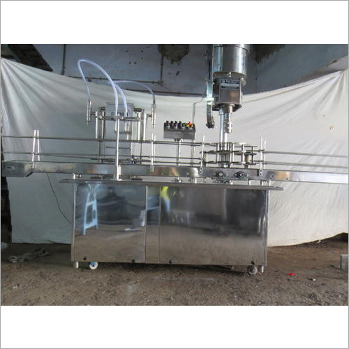 Liquid And Bottle Filling Machine