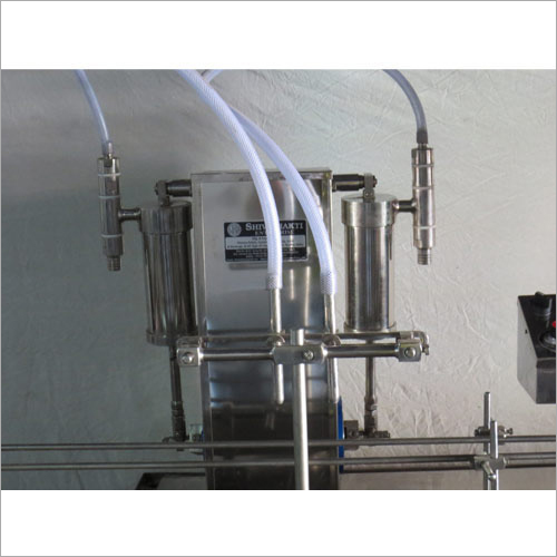 Two Head Fully Automatic Liquid Filling Machine