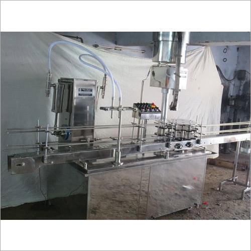 Fully Automatic 4 Head Liquid Filling Machine