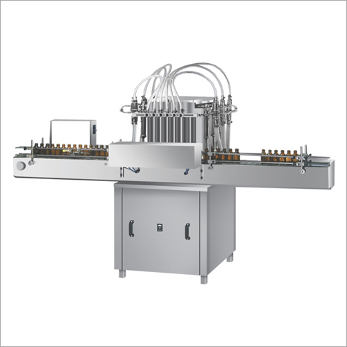 Six Head Volumetric Liquid Filling Machine