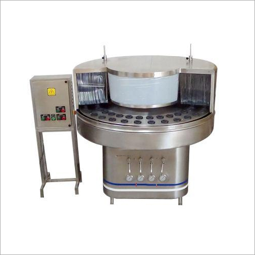 Automatic Rotary Bottle Washing Machine