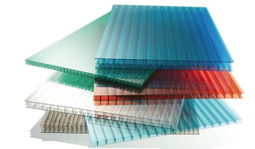 Multiwall polycarbonate roofing sheet