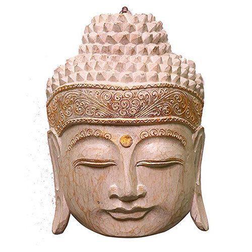 Handmade Buddha Head Sculpture