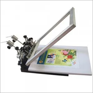 JM-SP01-1C 1color 1 Station Screen Printing Machine
