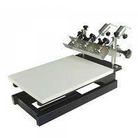 JM-SP01-1C 1color 1 Station Screen Printing Machine