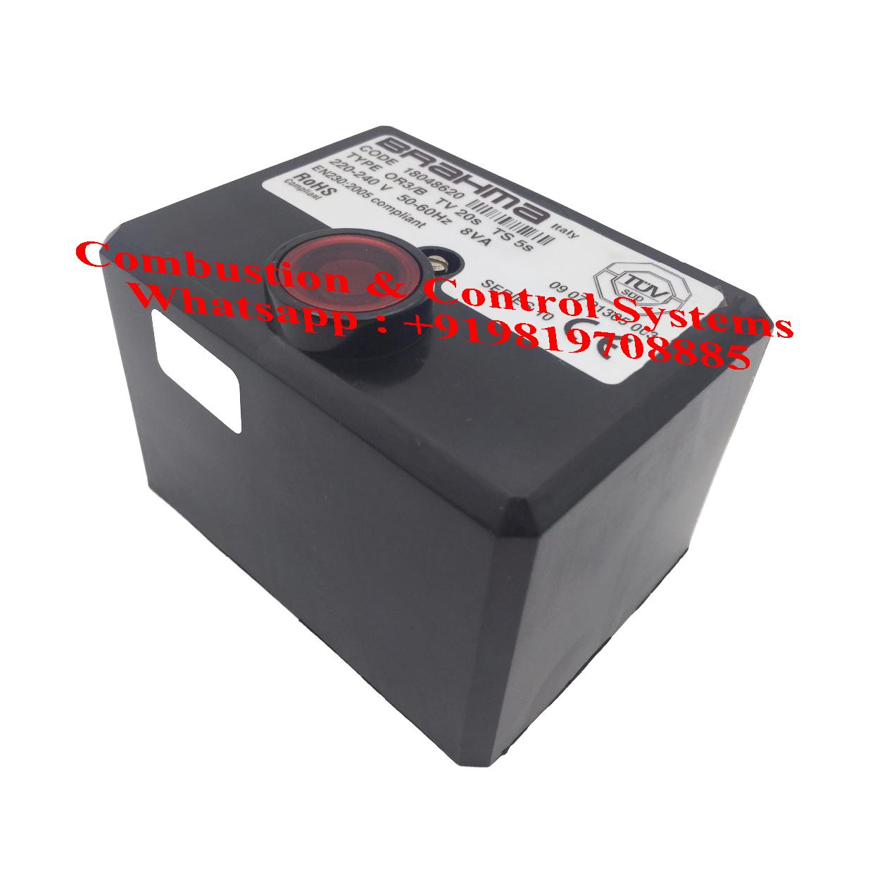 Brahma Burner control box OR3/B