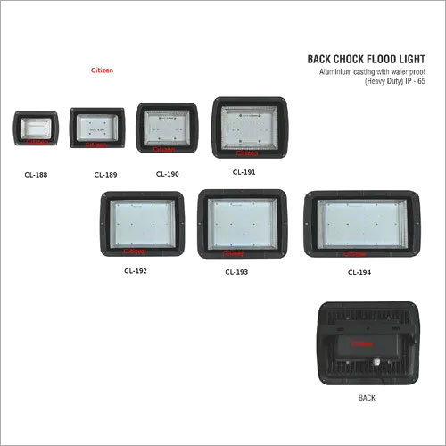 BACK CHOCK FLOOD LIGHT