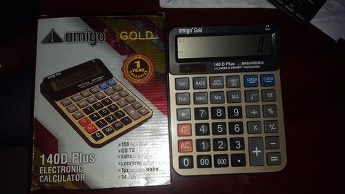 calculator amigo gold 140D plus